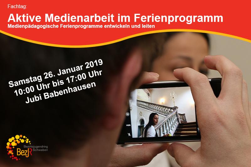 Fachtag: Aktive Medienarbeit im Ferienprogramm